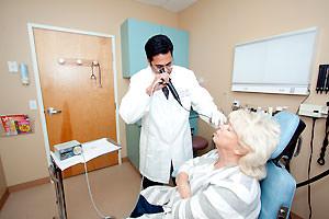 Dr. Vaidya ear exam